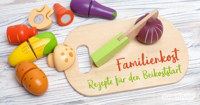 Beikost einzuführen geht auch unkompliziert: Mit Gemüsehappen für das Baby und einfachen Familienkost-Rezepten zur Doppelnutzung des Babygemüses!