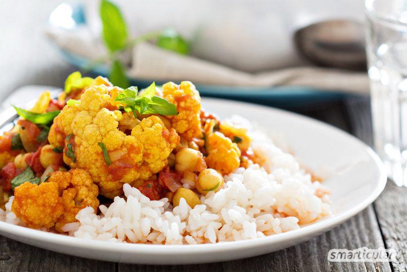 Wenn du denkst, aus Gemüseresten lässt sich nichts zaubern, dann kennst du das einfachste Rezept für Gemüsecurry aus Resten noch nicht. Fertig in weniger als 30 Minuten!