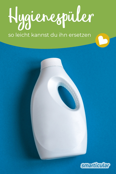 Hygienespüler ist in aller Regel überflüssig und lässt sich leicht durch einfache Hygienemaßnahmen und unbedenkliche Hausmittel ersetzen.