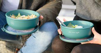 Take-Away-Gerichte im Mehrwegbehälter können große Mengen Abfall einsparen. Mit der ReBowl soll das nachhaltige Essen-to-go deutschlandweit Wirklichkeit werden.
