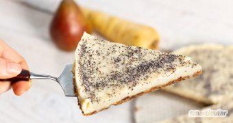 Fünf Portionen Obst und Gemüse am Tag … Wenn das mal immer so einfach wäre wie mit diesem süß-köstlichen Dessert: Cheesecake mit Pastinaken!