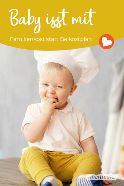 Für Babys unter einem Jahr selbst zu kochen, bedeutet meist jede Menge zusätzliche Arbeit. Dabei kann es so einfach sein mit der richtigen Familienkost: Kombifutter für alle!