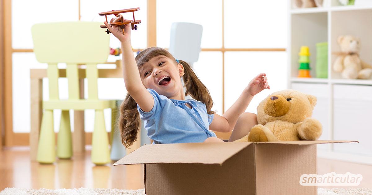 Mit diesen lustigen Bewegungsspielen für drinnen kommt auch abseits von Fernseher und Playstation keine Langeweile in der Wohnung auf. Perfekt für Homeoffice mit Kindern!
