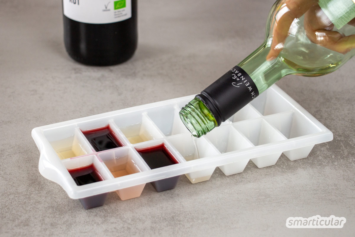 Weinreste sind viel zu schade für den Ausguss. Mit diesen Tipps und Rezepten lassen sich abgestandene Rotwein- und Weißweinreste auf vielfältige Weise verwerten.