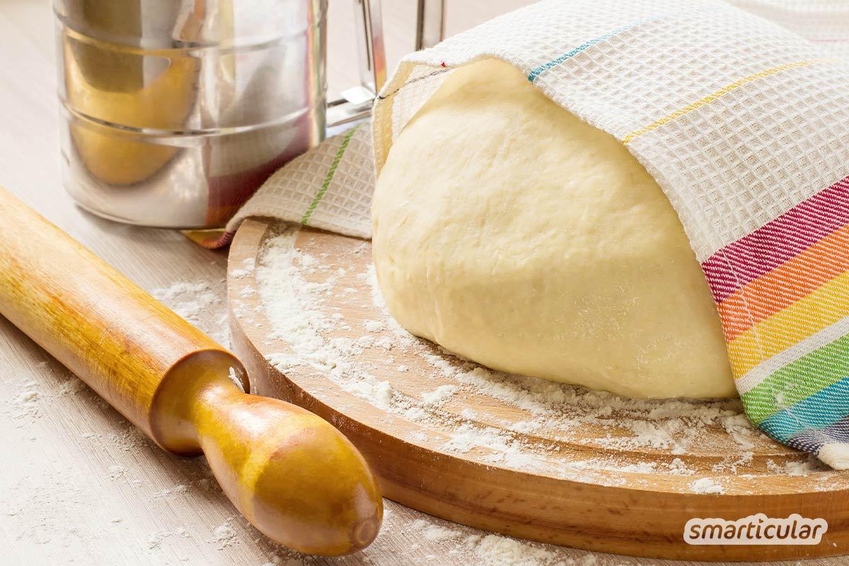 Wenn die Eier im Supermarkt knapp werden oder man aus anderen Gründen auf die runden Ostergeschenke verzichten möchte, kommt ein Rezept für einen veganen Hefezopf gerade recht!