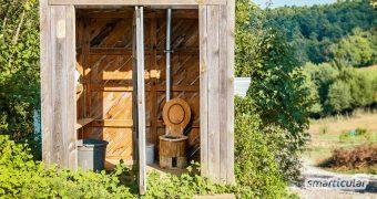 Eine Komposttoilette ist eine nachhaltige Alternative zum Chemieklo im Garten und auf Reisen. Hier findest du alles Wissenswerte zur Trockentoilette.