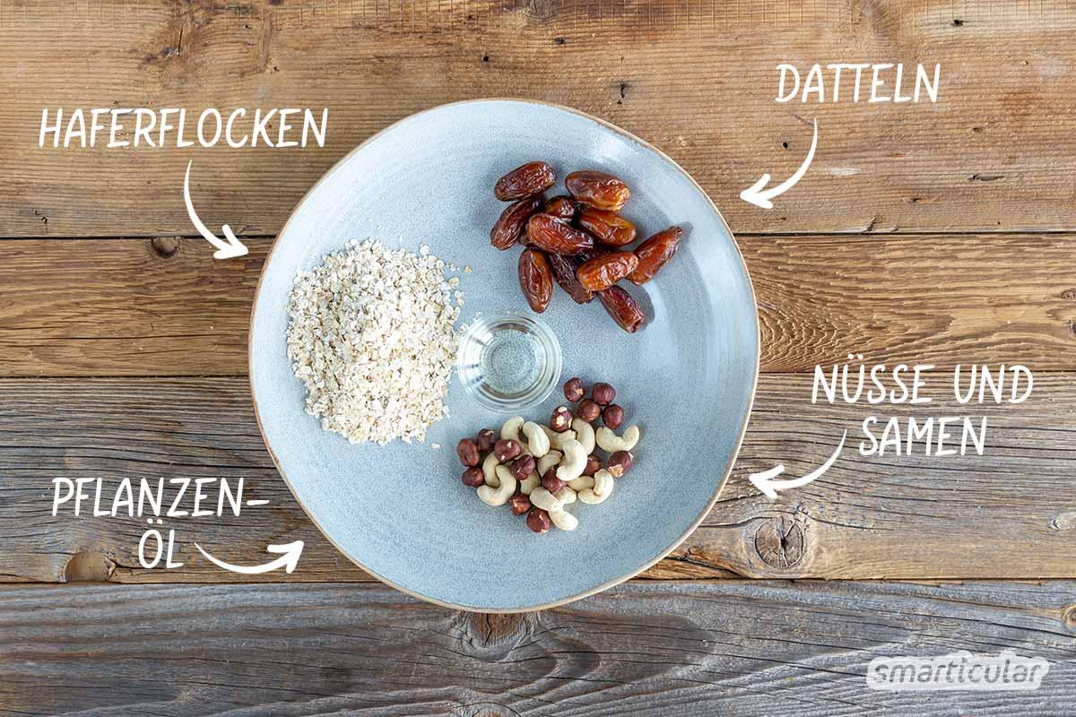 Mit diesem Rezept für einen schnelle Tortenboden ohne Backen lässt sich nicht nur der gesamte Backvorgang sparen. Der Boden steckt auch noch voller gesunder Zutaten.