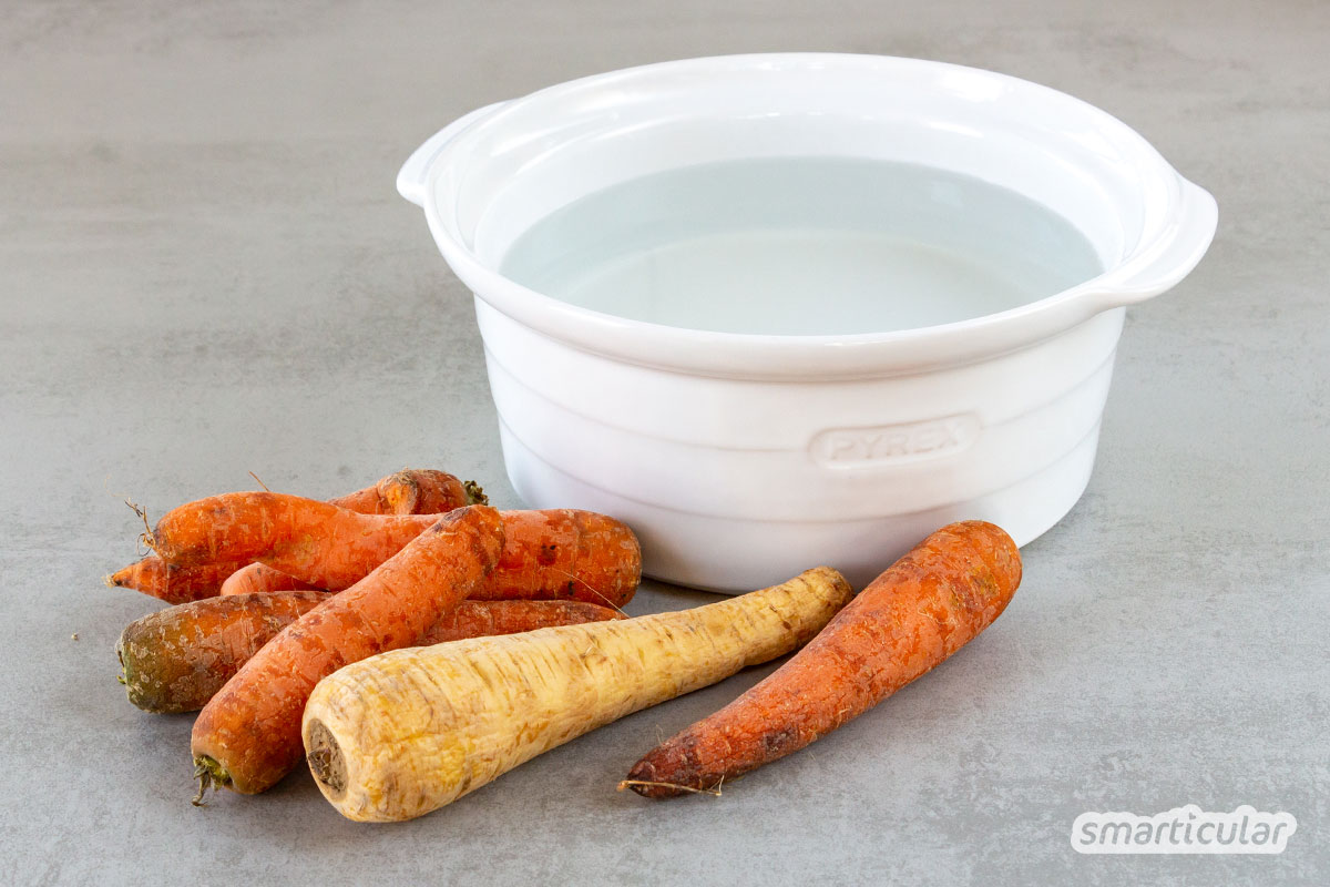 Hart gewordener Käse, trockene Nudeln, labbriges Gemüse - mit diesen einfachen Tricks lassen sich Lebensmittel auffrischen, statt sie wegzuwerfen.