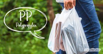 Der häufig eingesetzte Kunststoff Polypropylen wird aus Erdöl gewonnen und ist nicht biologisch abbaubar. Hier findest du nachhaltige Alternativen.