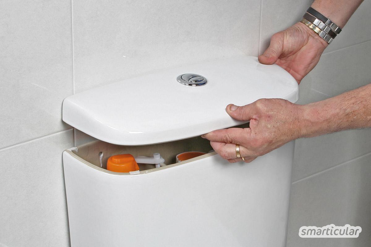 Kalkrückstände im Spülkasten können dazu führen, dass die Spülung nicht mehr stoppt. Mit diesen Hausmitteln lässt sich der Spülkasten entkalken - effektiv und umweltfreundlich.