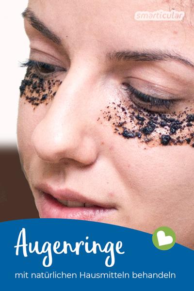 Augenringe wegbekommen: Anstatt teure kosmetische Produkte einzusetzen, kann man auch einfache Hausmittel gegen Augenringe verwenden.