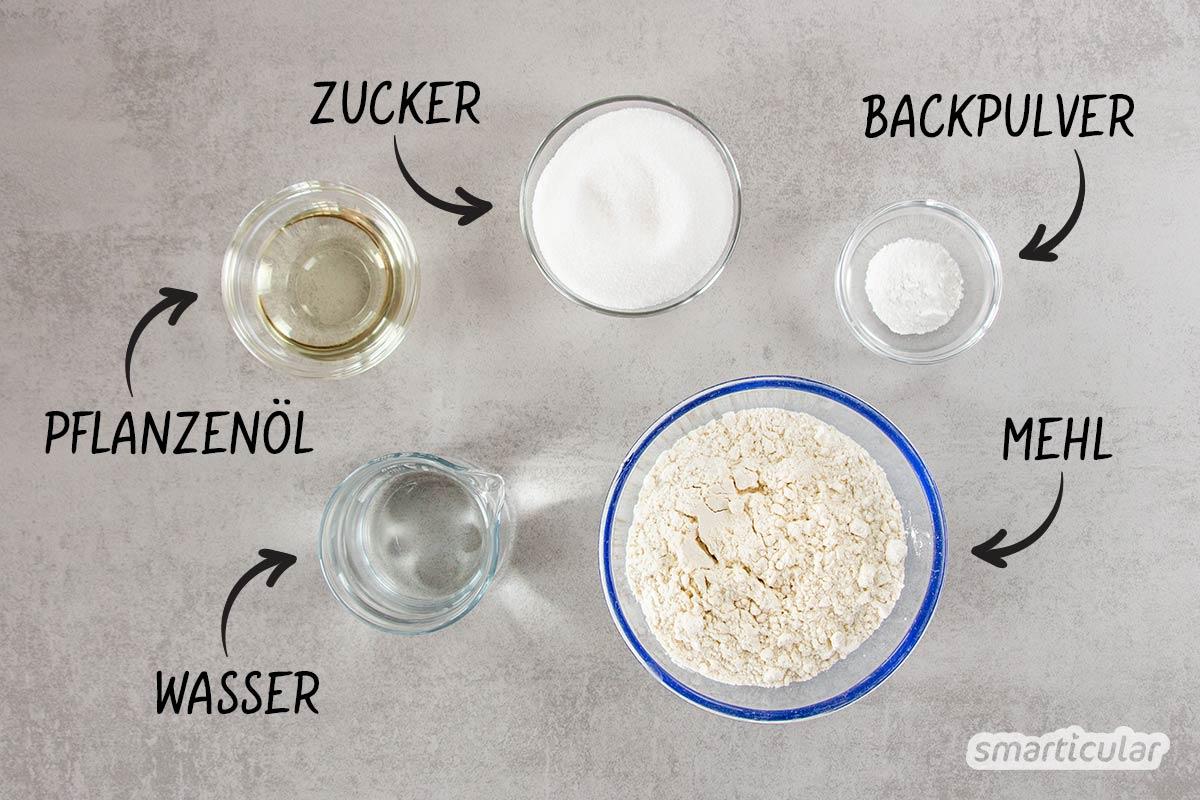 Mit diesem Rezept wird dein veganer Tortenboden genauso luftig und locker wie das Original - mit nur fünf einfachen Zutaten.
