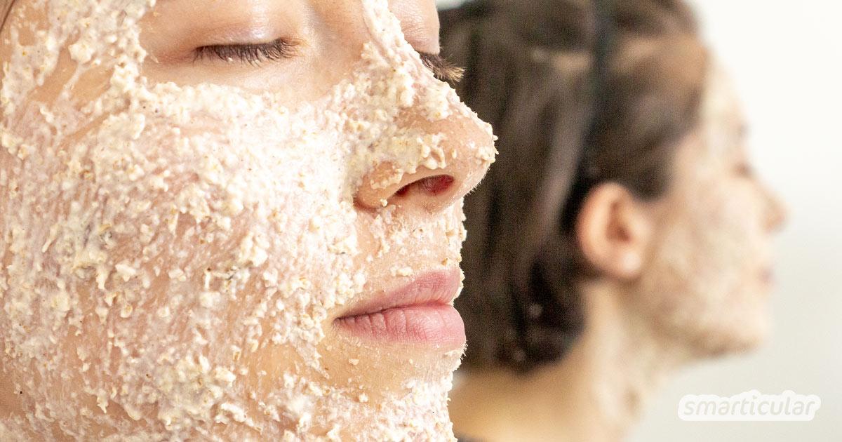Eine Maske gegen Pickel lässt sich leicht selber machen mit Lavendel: Seine Inhaltsstoffe wirken entzündungshemmend, antibakteriell und beruhigend.