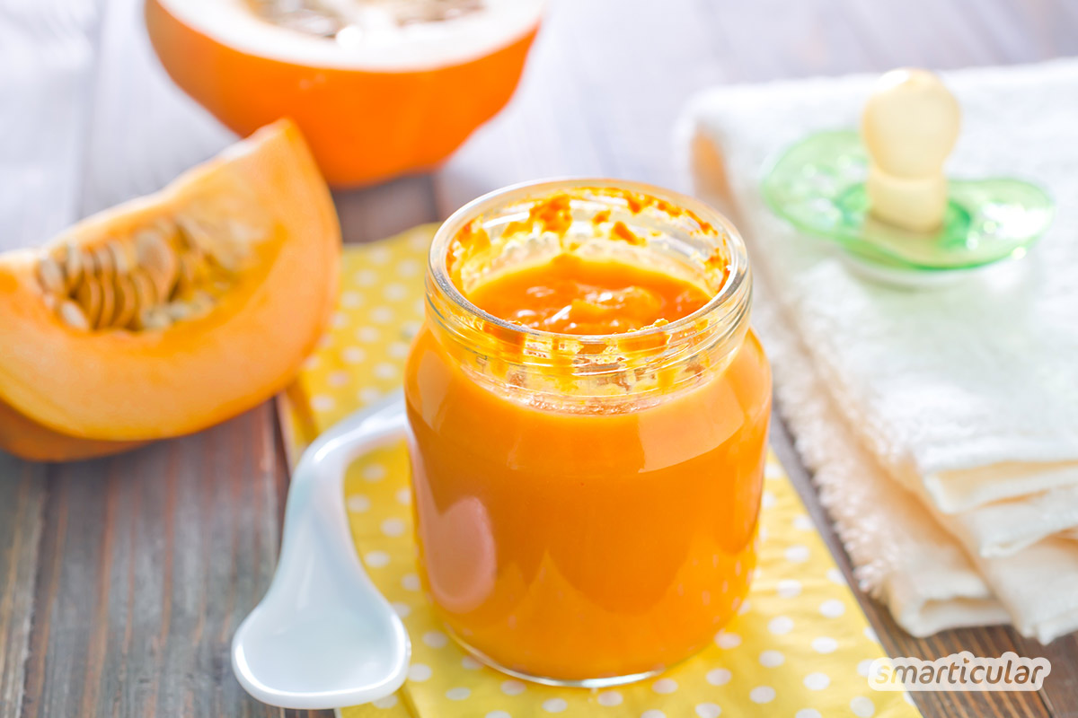 Im Herbst reifen viele regionale Gemüsesorten. Auch Babys Mittagsbrei lässt sich mit frischem Herbstgemüse zubereiten und enthält so mehr gesunde Vitalstoffe.