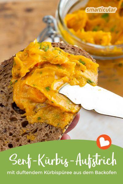Dieser Kürbisaufstrich ist eine äußerst schmackhafte Art, Kürbisse zu verarbeiten und haltbar zu machen, wenn im Herbst die Kürbisschwemme anbricht.