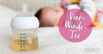Viele Babys leiden unter Dreimonatskoliken und die Eltern gleich mit. Eine selbst gemachte Teemischung lindert die Beschwerden auf natürliche Weise.