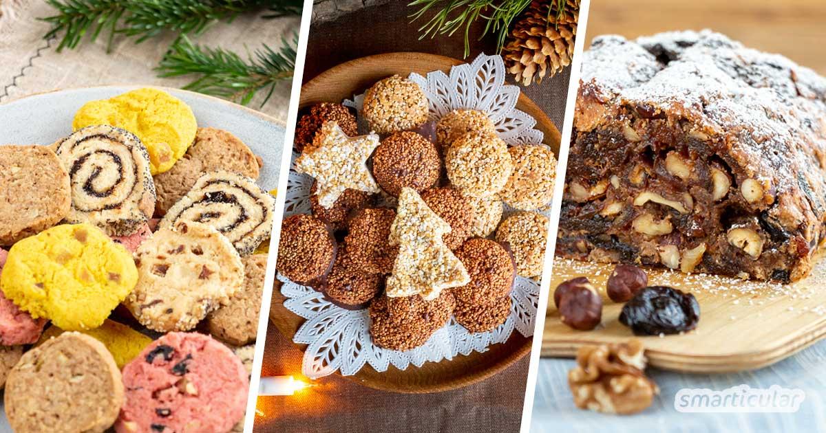 Weihnachtskekse und Co. gehören zur Adventszeit einfach dazu. Hier gibt es die besten einfachen Rezepten für abwechslungsreiches Weihnachtsgebäck!