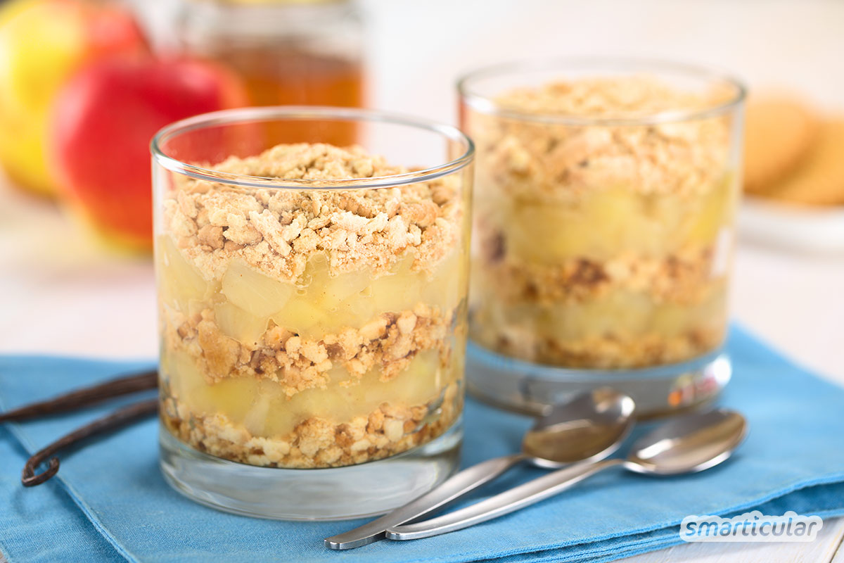 Eine köstliche Nachspeise rundet jedes Dinner ab. Wenn die Lust auf Süßes mit wenig Aufwand gestillt werden will, sind schnelle Desserts genau das Richtige!