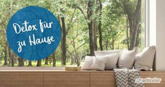 Eine minimalistische Wohnung hat etwas Befreiendes, statt uns mit Krempel zu belasten - der Anfang ist nicht schwer, dabei helfen diese Tipps für Detox fürs Zuhause.