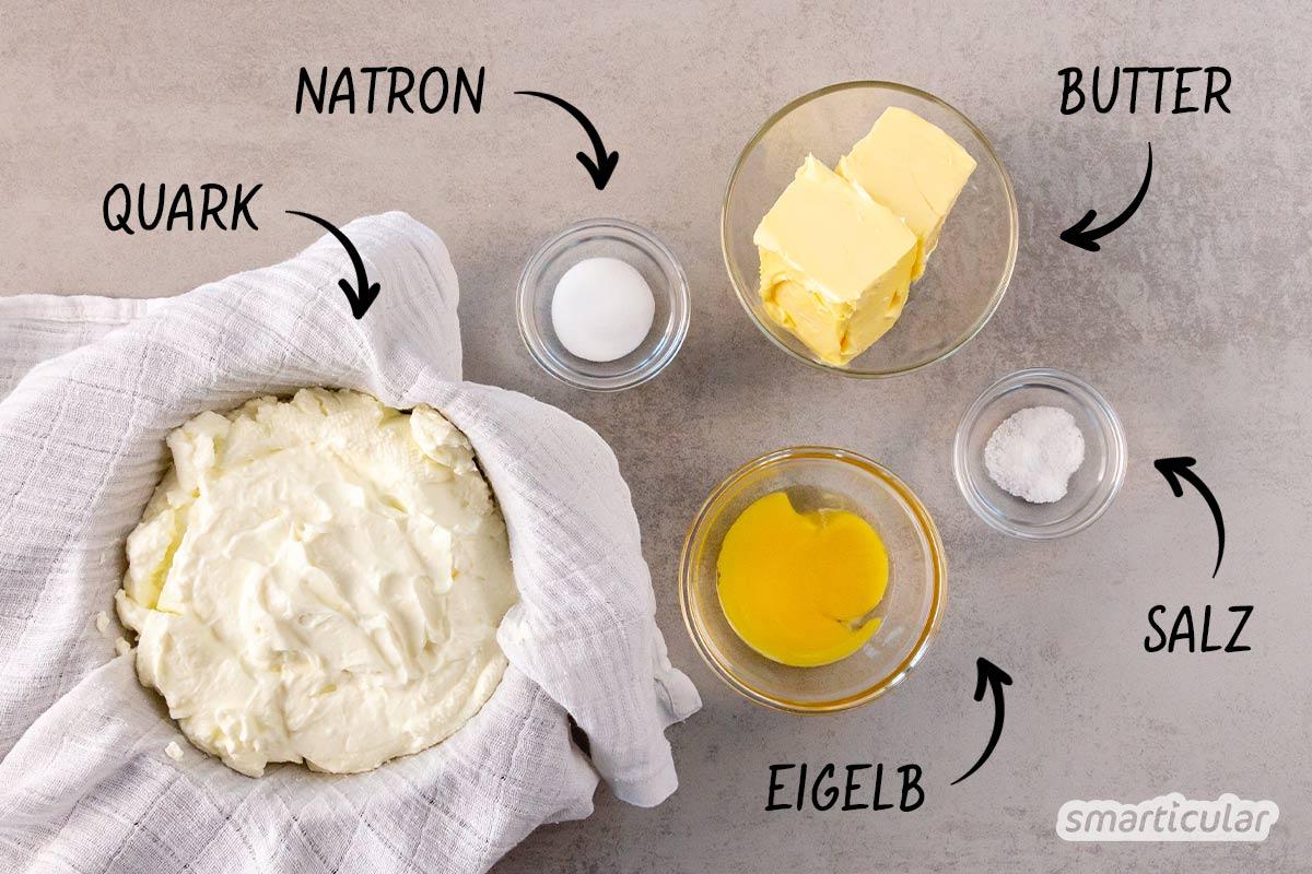 Mit diesem Kochkäse-Rezept lässt sich der vielseitige Küchenklassiker einfach selber machen - mit weniger Verpackungsmüll und ohne fragwürdige Inhaltsstoffe.