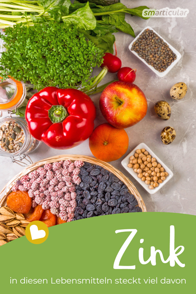 Das Spurenelement Zink spielt im Körper eine wichtige Rolle unter anderem für das Immunsystem. Einem Zinkmangel lässt sich mit den richtigen Lebensmitteln leicht vorbeugen.