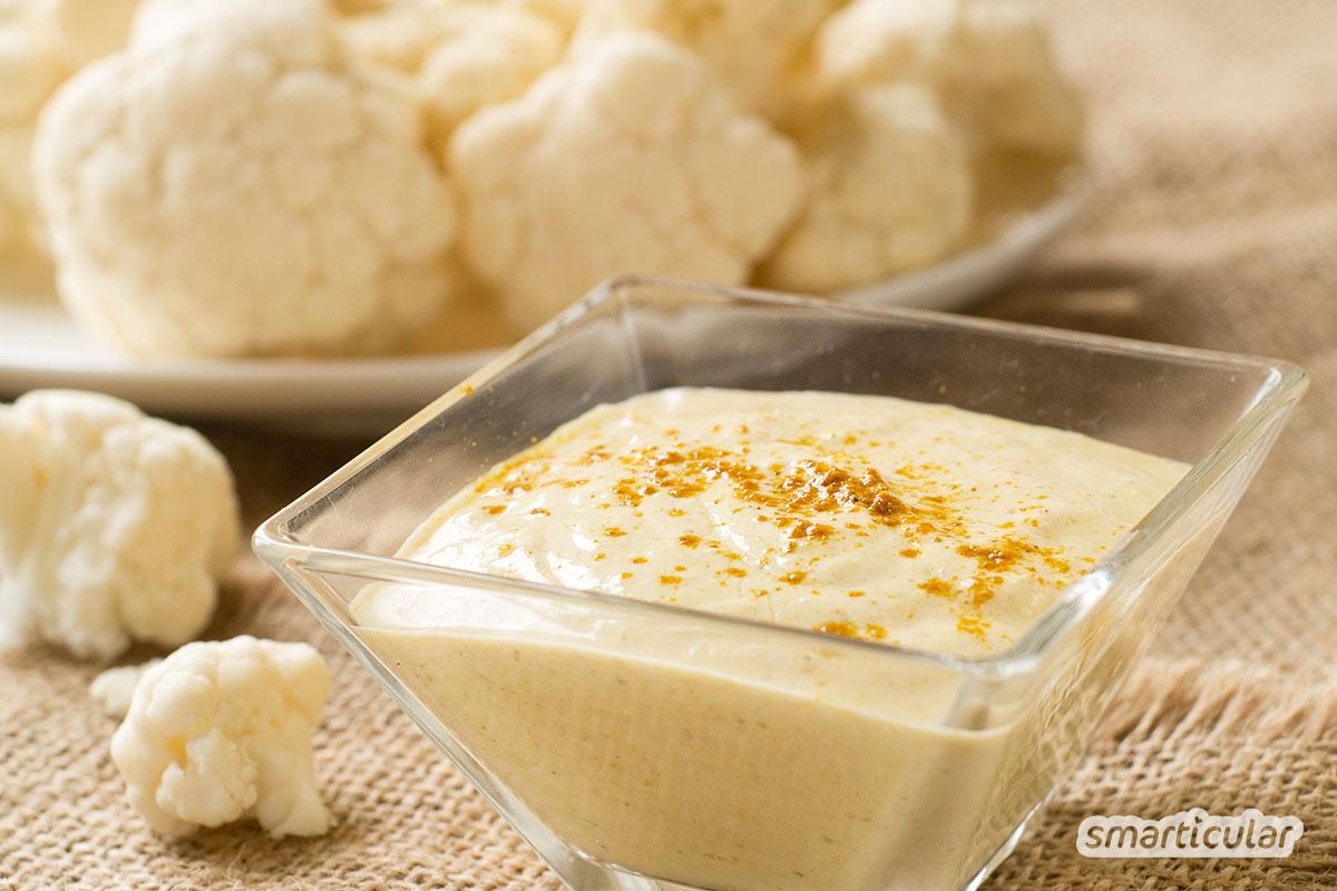 Reste von gekochtem Gemüse lassen sich mit wenigen weiteren Zutaten in köstliche Brotaufstriche verwandeln.
