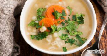 Graupensuppe ist ein herrlich wärmendes und sättigendes Gericht. Das klassische Rezept für Graupensuppe ist einfach und lässt sich vielseitig abwandeln.