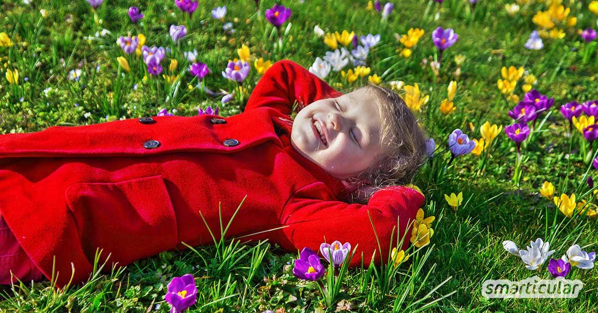 Endlich Frühling - Zeit nach draußen zu gehen und etwas zu unternehmen! Welche Outdoor-Aktivitäten im Frühling besonders empfehlenswert sind, erfährst du hier.