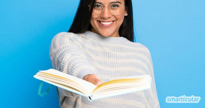 Am 14. Februar findet der Verschenke-ein-Buch-Tag statt, an dem du deinen Büchern auf sinnvolle Art und Weise ein zweites Leben schenken kannst.