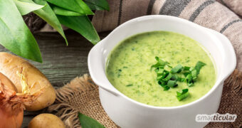 Der gesunde, vitalstoffreiche Bärlauch lässt sich mit diesem Rezept besonders einfach zu einer köstlichen Bärlauchsuppe verarbeiten.