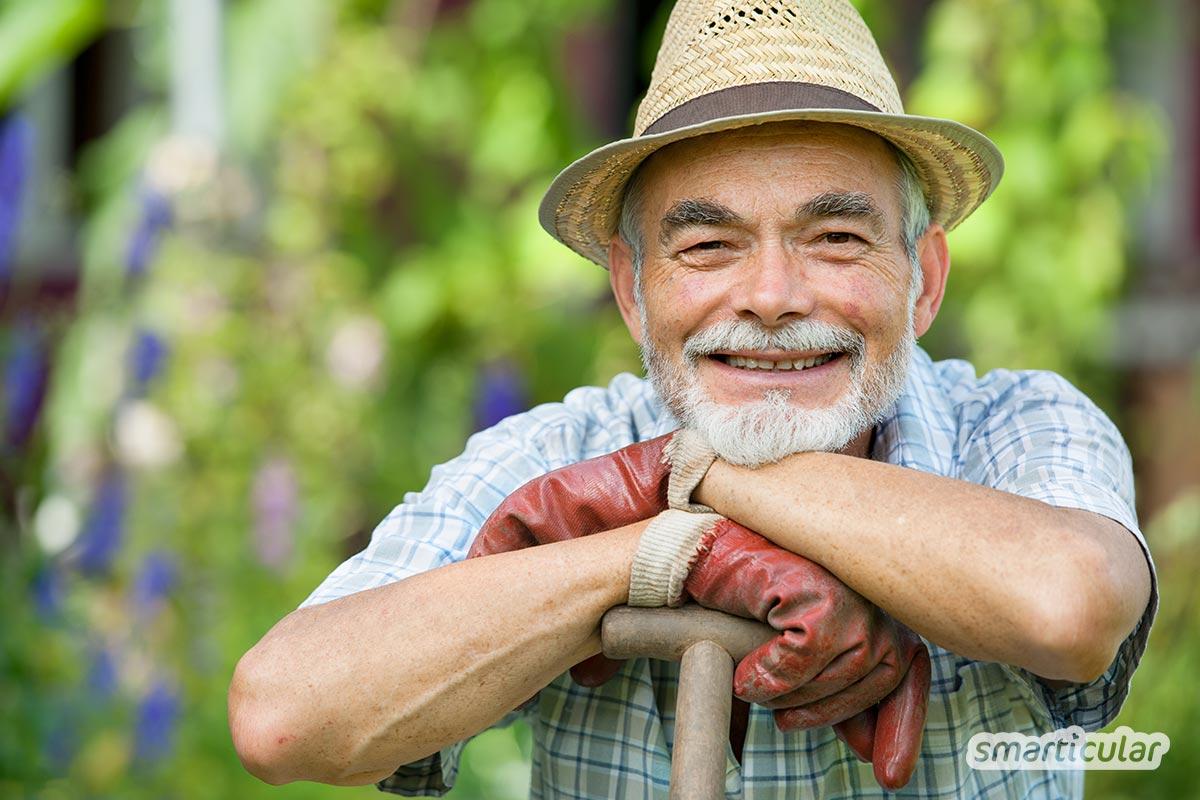 Gartenarbeit wirkt sich auf vielfältige Weise positiv auf unseren Körper und unsere Seele aus. Nach dieser Lektüre möchtest du bestimmt sofort loslegen!