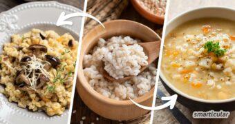 Graupen, insbesondere Perlgraupen aus Gerste, sind gesunde, bekömmliche und regionale Zutaten für viele köstliche Rezepte. Entdecke Graupen (neu) für dich!