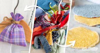 Um Stoffreste zu verwerten, Geld zu sparen und Müll zu vermeiden, kannst du auf viele tolle Nähideen in diesem Beitrag zurückgreifen.
