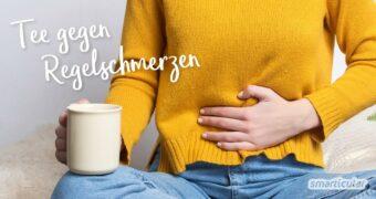 Bei Regelschmerzen musst du nicht zu Tabletten greifen! Sehr wirkungsvoll lassen sich Krämpfe und andere Beschwerden mit einem Tee gegen Regelschmerzen lindern.