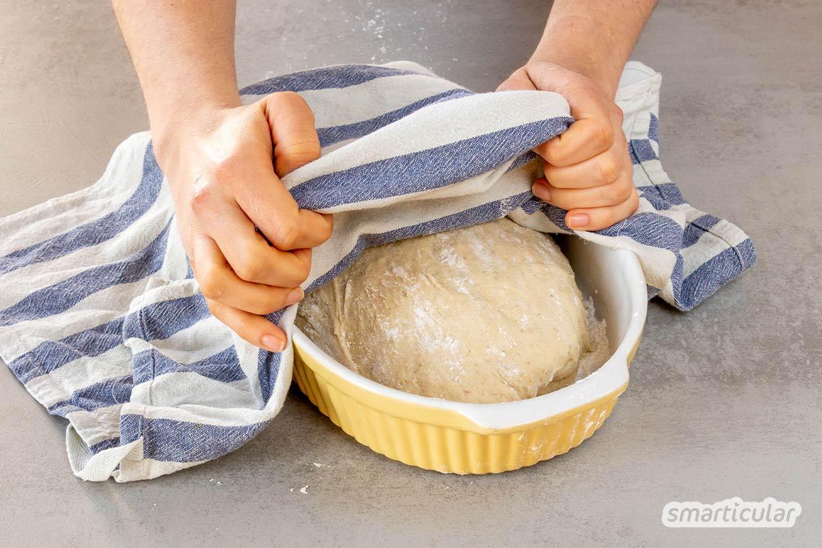 Genauso wie Kartoffelbrot lässt sich auch ein Topinamburbrot backen, mit weniger Kohlenhydraten und mehr Proteinen aus der gesunden Winterknolle.