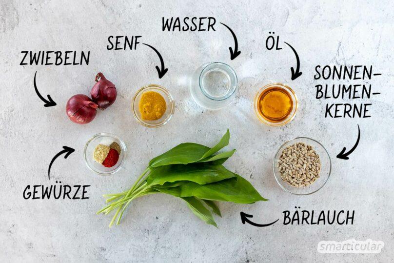 Mit dieser Bärlauchsauce werden Gemüse und Salate zum köstlich-saisonalen Genuss!