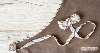 Schrägband selber zu machen, ist nicht schwer. Das Band zum Einfassen von Ausschnitten und runden Kanten lässt sich sogar aus Stoffresten herstellen.