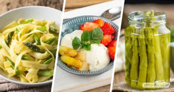 Statt Spargel immer auf die klassische Art zu genießen, sorgen diese Spargelrezepte für Suppe, Salat oder zur Pasta für Abwechslung auf dem Teller.