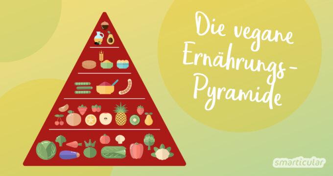 Mit welchen Lebensmitteln für Veganer ist auch eine rein pflanzliche Ernährung bedarfsdeckend möglich? Die vegane Ernährungspyramide beantwortet es!
