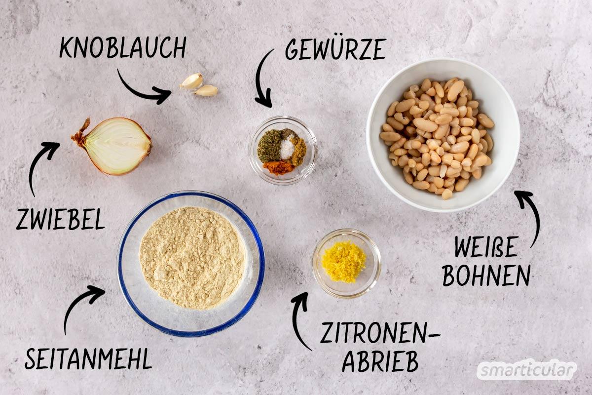Mit einer selbst gemachten veganen Weißwurst kannst du Geld und Verpackungsmüll sparen - für das echte Bayernfeeling aus rein pflanzlichen Zutaten!