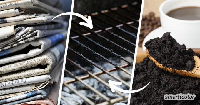 Um einen eingebrannten Grillrost zu reinigen, braucht es keine Spezialprodukte. Mit diesen Tricks und Hausmitteln wird der Grill umweltfreundlich sauber.