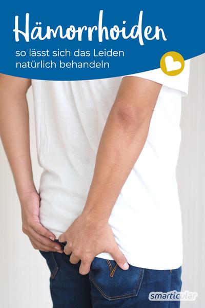 Viele Menschen leiden unter vergrößerten Hämorrhoiden. Mit Hausmitteln lassen sie sich auf natürliche Weise behandeln oder ihnen vorbeugen.