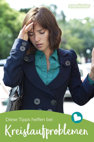Wenn du bei Hitze unter Kreislaufproblemen leidest, probiere diese Tipps und Hausmittel aus, um deinen Kreislauf wieder in Schwung zu bringen!