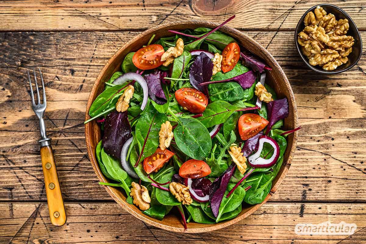 Mangold ist viele Wochen regional verfügbar und lässt sich zu zahlreichen Köstlichkeiten verarbeiten - hier findest du einfache und originelle Rezepte mit Mangold.