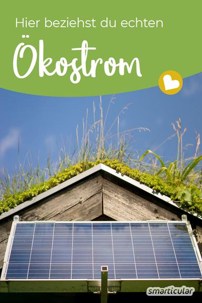 Ökostrom ist nicht gleich Ökostrom! Hier findest du echte Ökostromanbieter und erfährst, wie leicht du zu einer Versorgung mit erneuerbaren Energien wechselst.