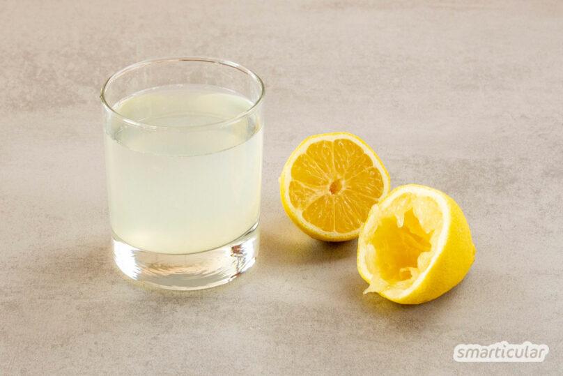 Wer unter Verdauungsbeschwerden, Übergewicht oder Immunschwäche leidet, setzt am besten auf Zitronenwasser, denn der kleine Trunk hat eine große Wirkung.