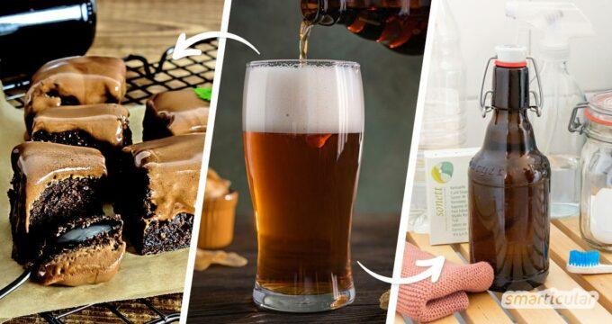 Bier ist eines der ältesten Getränke der Welt – und ein vielseitiges Hausmittel bei Erkältungen, zur Reinigung, zum Düngen und für vieles mehr.