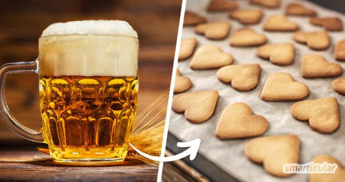 Weihnachtliche Bierplätzchen bringen mehr Abwechslung und einen ganz besonderen Keksgenuss in die Adventszeit. Ein einfaches Rezept findest du hier.