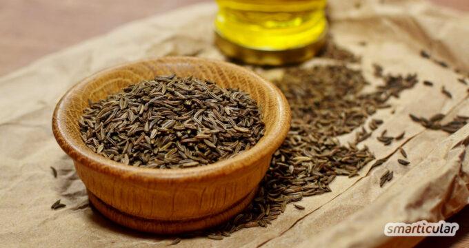 Kümmel ist ein vielseitiges Gewürz und gehört zu den traditionellen Naturheilmitteln. Hier erfährst du mehr über die gesundheitliche Wirkung und Verwendung.