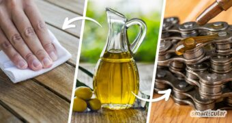 Olivenöl ist nicht nur im Salat ein Superheld, sondern erleichtert dir auch den Alltag. Hier findest du zehn Olivenöl-Lifehacks, die es in sich haben.